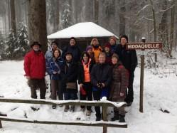 Globetrotter-Hüttentreffen im tiefen Schnee