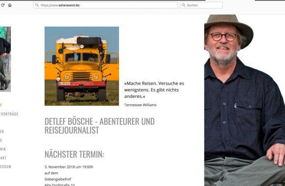 Saharasand.de - Detlef Boesche