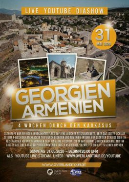 DZG Reisevortrag Georgien Armenien Backpacker Trip