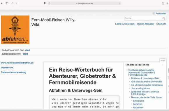 Fern-Mobil-Reisen Willy-Wiki